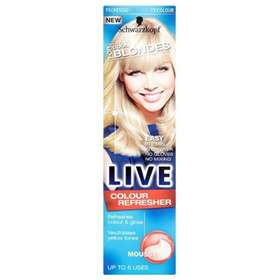 Schwarzkopf Live Cool For Blondes Colour Refresher Mousse 75ml