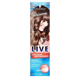 Schwarzkopf Live Colour Refresher Mousse For Cool Browns 75ml