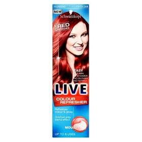 Schwarzkopf Live Colour Refresher Mousse For Red Shades 75ml