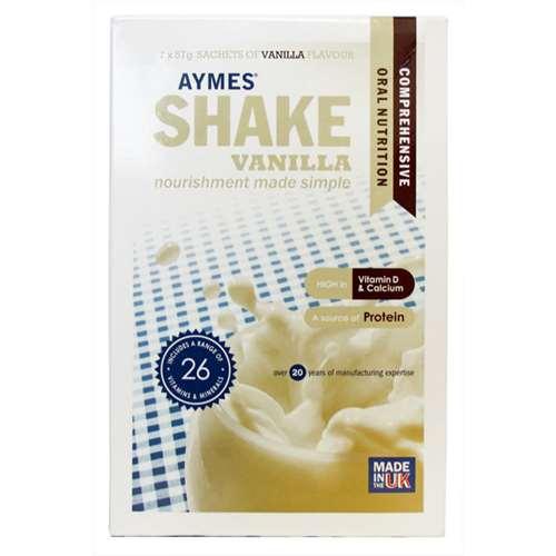 Image of Aymes Shake Vanilla 7 x 57g Sachets
