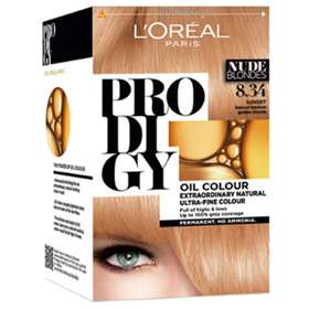 L'Oreal Prodigy 8.34 Sunset (Natural medium golden blonde) Hair Colour.