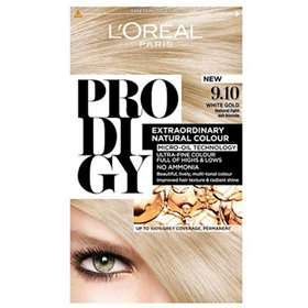 L'Oreal Prodigy 9.10 White Gold (Natural light ash blonde) Hair Colour.