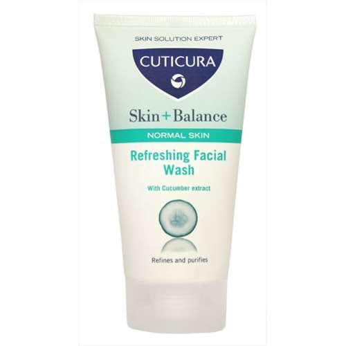 Image of Cuticura Skin + Balance Refreshing Facial Wash 150ml