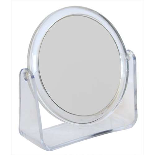 Image of 2 way Oval Stand Beauty Mirror