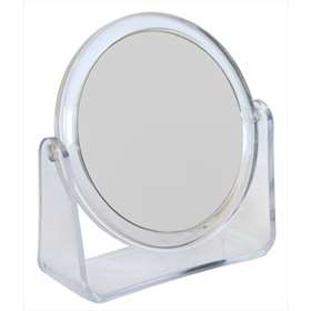 2 Way Oval Stand Beauty Mirror