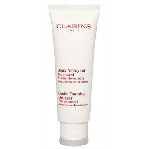 Image of Clarins Paris Gentle Foaming Cleanser Normal or combination skin 125ml