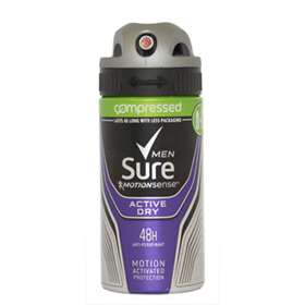 Sure Anti-Perspirant Men Active Compressed 75ml