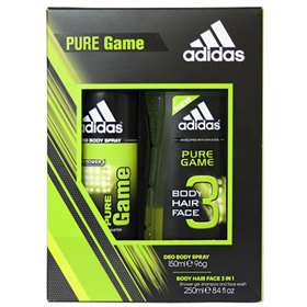 Adidas Men's Pure Game Duo Gift Set