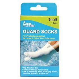 Aqua Safe Guard Socks Small