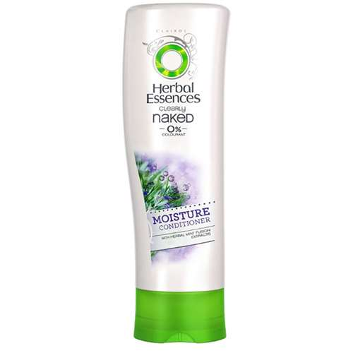 Herbal Essences Clearly Naked With Herbal Mint Fusion Extract Moisture Conditioner 200ml
