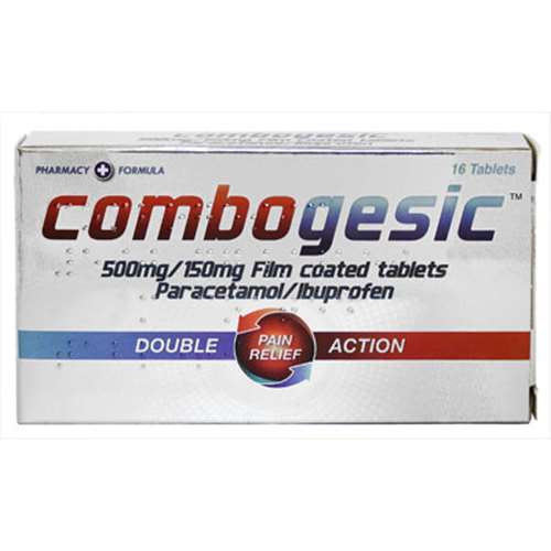 Image of Combogesic Double Action Pain Relief - 16 Tablets