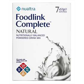 Nualtra Foodlink Complete Natural Powdered Drink Mix 7 Servings