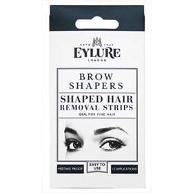 Eylure Brow Shapers Shaped Hair Removal Strips - 12 Applications.