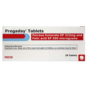 Pregaday 28 Tablets 100mg