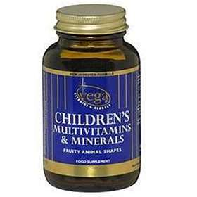 Vega Childrens Multivitamins & Minerals Fruity Teddy Bears 60 Chewable Tablets