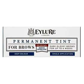 Eylure Permanent Tint For Brows Mid Brown 1 Application