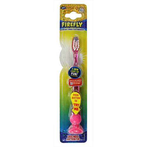 FireFly Lightup Timer Toothbrush Pink
