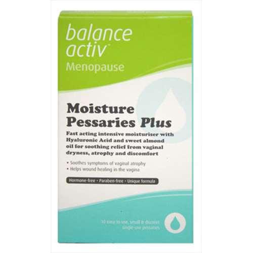 Image of Balance Activ Menopause Moisture Pessaries Plus 10