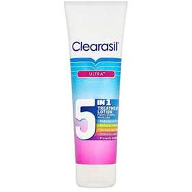 Clearasil Ultra Face, Chest and Back 5 in 1 Treatment Lotion 100ml