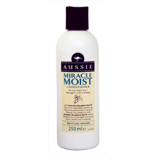 Image of Aussie Miracle Moist Conditioner Moisture Infuser 250ml
