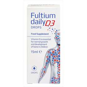 Fultium Daily D3 Drops Food Supplement 15ml