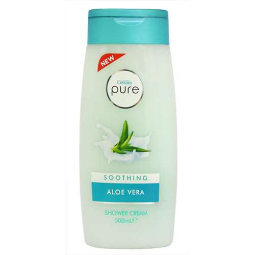 Image of Cussons Pure Soothing Aloe Vera Shower Cream 500ml