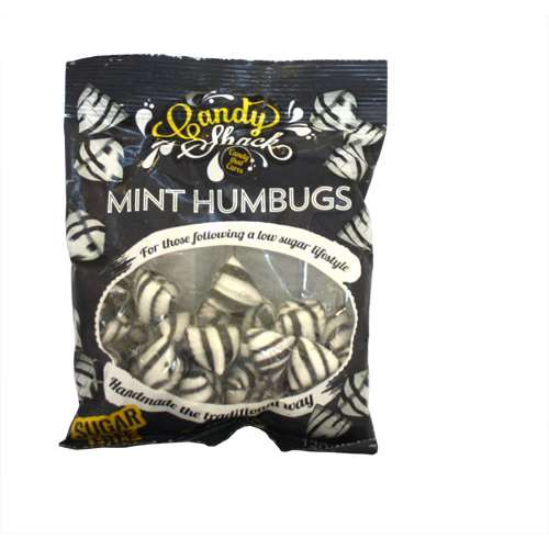 Image of Candy Shack Sugar Free Mint Humbugs 120g