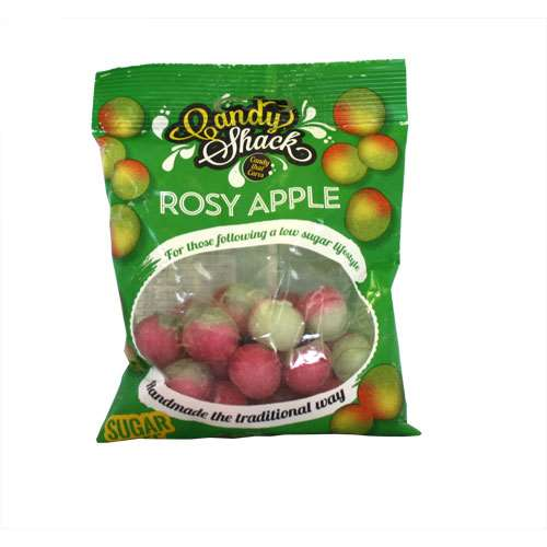 Image of Candy Shack Sugar Free Rosy Apple Sweets 120g