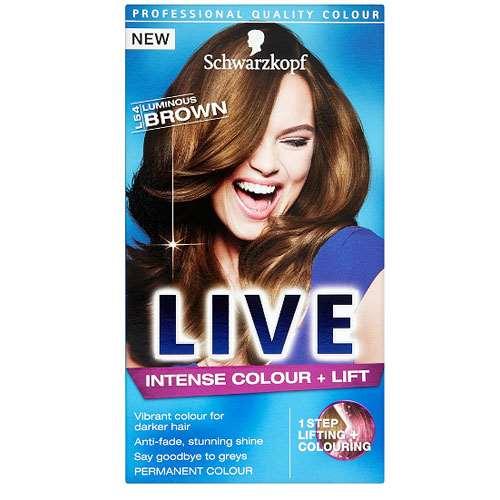 Image of Schwarzkopf Live Intense Colour & Lift - Luminous Brown