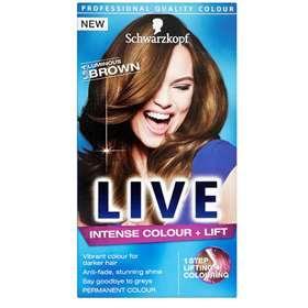 Schwarzkopf Live Intense Colour & Lift - Luminous Brown