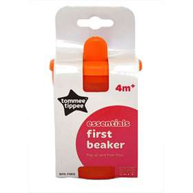 Tommee Tippee First Beaker  4+ months 200ml Orange