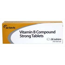 Actavis Vitamin B Compound Strong Tablets - 28 Tablets