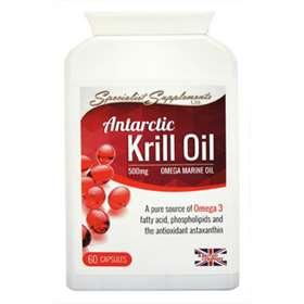 Specialist Supplements Antarctic Krill Oil - 60 Capsules