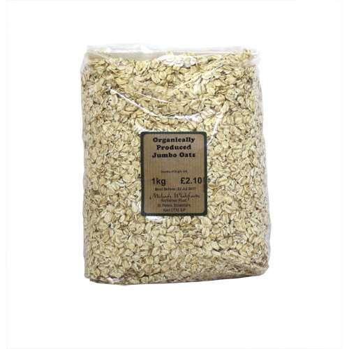 Image of Michaels Wholefoods organically Produced Jumbo Oats 1kg