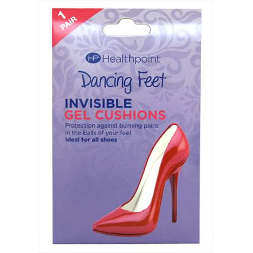 Image of Healthpoint Dancing Feet Invisible Gel Cushions