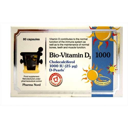 Image of Bio-Vitamin D3 1000iu 25µg - 80 Capsules