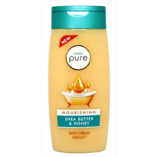 Image of Cussons Pure Nourishing Shea Butter & Honey Bath Cream - 500ml