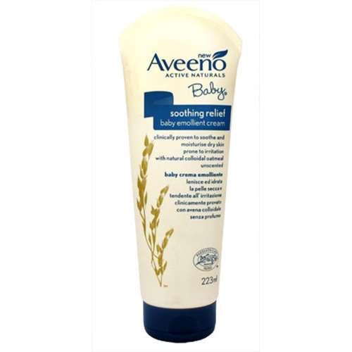 Image of Aveeno Baby Soothing Relief Baby Emollient Cream - 223ml