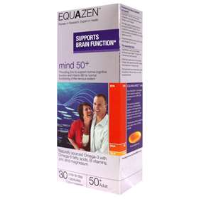 Equ<b>A</b>zen 50+ - 30 One-a-day Capsules