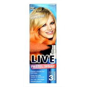 Schwarzkopf Live Pastel Spray Apricot Sunrise - 125ml