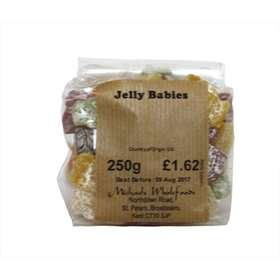 Michaels Wholefoods Jelly Babies - 250g