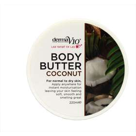 Derma  V10 Body Butter Coconut - 220ml