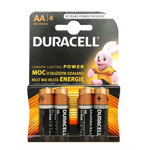 Image of Duracell AA Batteries 4