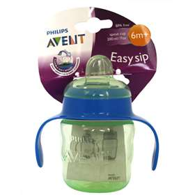 Avent Easy Sip Cup Green 200ml/7oz