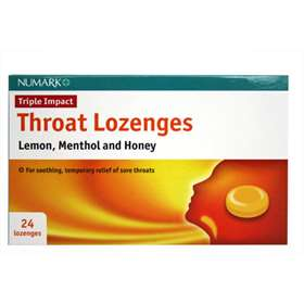 Numark Triple Impact Throat Lozenges 24