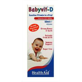 Health Aid Babyvit D Drops 50ml