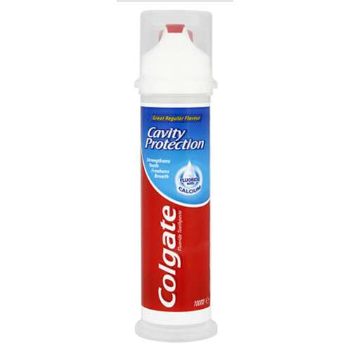 Image of Colgate Cavity Protection Toothpaste Pump 100ml