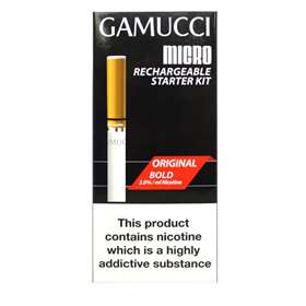 Gamucci Micro Rechargeable Starter Kit Original 2.0%/ml