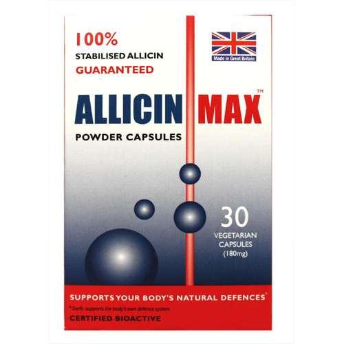 Image of Allicin Max Powder Capsules 30