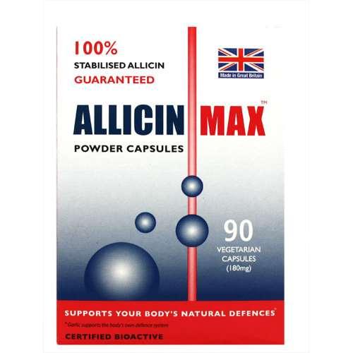 Image of Allicin Max Powder Capsules 90